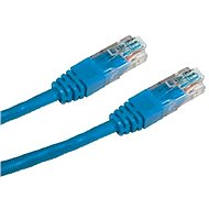 Datacom CAT5E UTP blue 0.25m - Network Cable