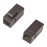 DATACOM Panel Coupler UTP CAT5E 2xRJ45 (8p8c) straight