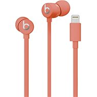 Beats urBeats3 with Lightning Connector - Coral Red - Headphones