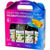 MONIN COCKTAIL BOX 4 x 0.25 Litres Syrup - Syrup