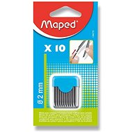 Maped Replacement Inks 2mm - Pack of 10 - Graphite pencil refill
