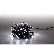 Light chain 100 LED 5 m - cold white - green cable - Christmas Lights