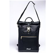 Marshall Downtown Roll Top, Black/Gold - City Backpack