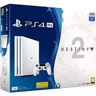 PlayStation 4 Pro 1TB - Glacier White + Destiny 2 - Game Console
