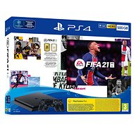 PlayStation 4 Slim 500GB + FIFA 21 + 2x DualShock 4 - Game Console