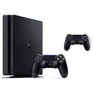 PlayStation 4 Slim 500GB + 2x DualShock 4 - Game Console