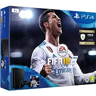 PlayStation 4 1TB + FIFA 18 - Game Console