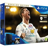 PlayStation 4 1TB + FIFA 18 Ronaldo Edition - Game Console