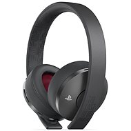 Sony PS4 Gold Wireless Headset Black - TLOU Part II Edition - Gaming Headset