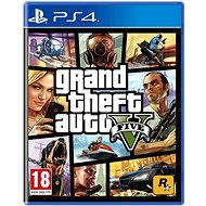 PS4 - Grand Theft Auto V  - Console Game