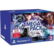 PlayStation VR Mega Pack for PS4 (PS VR + Camera + 5 games) - VR Headset