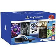PlayStation VR Mega Pack 2 (PS VR + Camera + 5 Games) - VR Headset