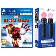 Marvels Iron Man VR - PS4  + 2x PS Move Controllers - Console Game
