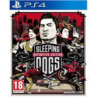 PS4 - Sleeping Dogs Definitive Edition - Console Game