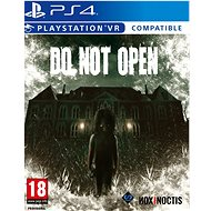 Do Not Open - PS4 VR - Console Game