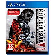 Metal Gear Solid 5: The Phantom Pain Definitive Experience - PS4 - Console Game