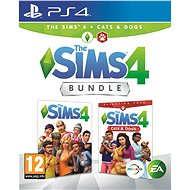 The Sims 4: Cats & Dogs Bundle (Full Game + Expansion Pack) - PS4 - Console Game