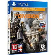 Tom Clancys The Division 2 Gold Edition - PS4 - Console Game