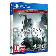 Assassins Creed 3 + Liberation Remaster - PS4 - Console Game