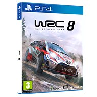 WRC 8 The Official Game - PS4 - Console Game