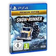 SnowRunner Premium Edition - PS4 - Console Game