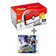 Nintendo NEW 2DS XL Pokéball Edition + Pokémon Ultra Moon - Game Console