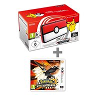 Nintendo NEW 2DS XL Pokéball Edition + Pokémon Ultra Sun - Game Console