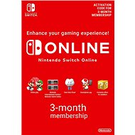 90 Days Online Membership - Nintendo Switch Digital - Prepaid Card