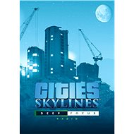 Cities: Skylines - Deep Focus Radio Steam PC DIGITAL - PC Game