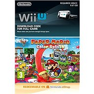 Paper Mario Color Splash - Nintendo Wii U Digital - Console Game