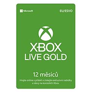 Xbox Live Gold - 12 Month Membership - Prepaid Card