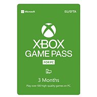 Xbox Game Pass - 3 Month Subscription (for Windows 10 PCs) - Prepaid Card
