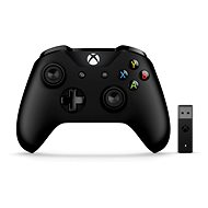 Xbox One Wireless Controller + Wireless Adapter for Windows 10 - Gamepad