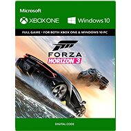 Forza Horizon 3 Standard Edition - (Play Anywhere) DIGITAL - Game for PC and XBOX