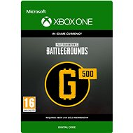 PLAYERUNKNOWN'S BATTLEGROUNDS 500 G-Coin  - Xbox One DIGITAL - Gaming Accessory