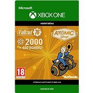 Fallout 76: 2000 Atoms   - Xbox One Digital - Gaming Accessory