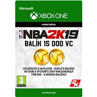 NBA 2K19: 15,000 VC - Xbox One Digital - Gaming Accessory