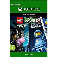 LEGO Worlds Classic Space Pack and Monsters Pack Bundle - Xbox One Digital - Hra pro konzoli
