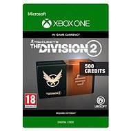 Tom Clancy's The Division 2: 500 Premium Credits Pack - Xbox One Digital - Gaming Accessory