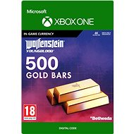 Wolfenstein: Youngblood: 500 Gold Bars - Xbox One Digital - Gaming Accessory