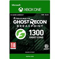 Gaming Accessory Ghost Recon Breakpoint: 1200 (+100 bonus) Ghost Coins - Xbox One Digital - Herní doplněk