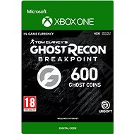 Ghost Recon Breakpoint: 600 Ghost Coins - Xbox One Digital - Gaming Accessory