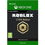 1,700 Robux for Xbox - Xbox One Digital - Gaming Accessory