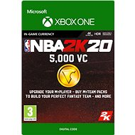 NBA 2K20: 5,000 VC - Xbox One Digital - Gaming Accessory