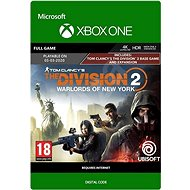 Tom Clancy's The Division 2: Warlords of New York Edition - Xbox One Digital - Console Game