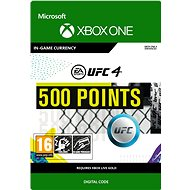 UFC 4: 500 UFC Points - Xbox One Digital - Gaming Accessory