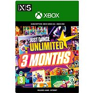 Just Dance Unlimited - 3 Month Subscription - Prepaid Card