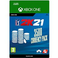 PGA Tour 2K21: 3500 Currency Pack - Xbox Digital - Gaming Accessory