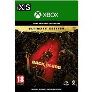 Back 4 Blood: Ultimate Edition - Xbox Digital - Console Game