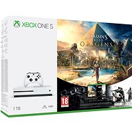 Xbox One S 1TB Assassin's Creed: Origins + Rainbow 6: Siege - Game Console